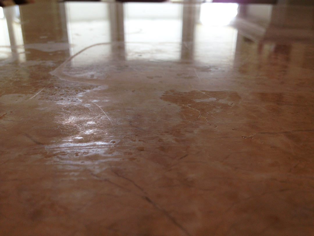 Marble Counter Polishing - Before